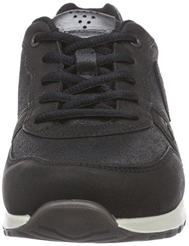 59532 Femme met Ecco Noir Cs14 Black Black Sha black Black Dark Basses Ladies Baskets xgUqS