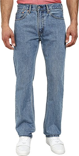 Levi's Men's 505 Regular Fit Jean,Light Stonewash,34×29