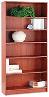 product image for HON 1870 Series Bookcase, 6 Shelves, 36 W by 11-1/2 D by 72-5/8 H, Henna Cherry