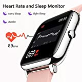 Smart Watch, KALINCO Fitness Tracker with Heart