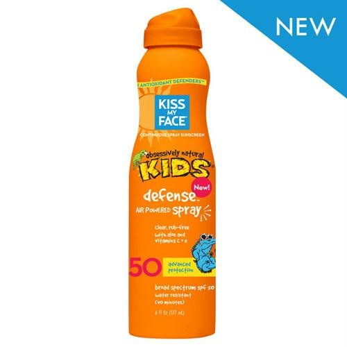 Kiss My Face Kids Defense Spray - Any Angle Air Power SPF 50-6 oz by Kiss My Face