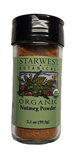 Nutmeg Powder Organic by Starwest Botanicals