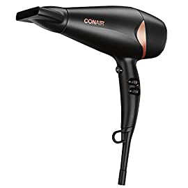 Conair Quick Blow-Dry Pro Styler/Hair Dryer, 1875 Watt, Black/Copper - 41hAIuDMF9L - Conair Quick Blow-Dry Pro Styler/Hair Dryer, 1875 Watt, Black/Copper