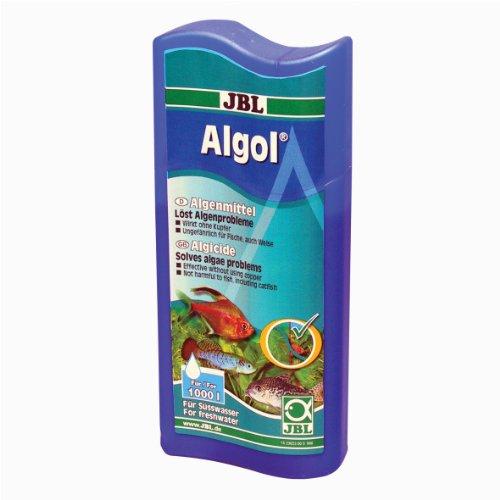 JBL 2302300 Wasseraufbereiter zur Bekämpfung von Algen für Süßwasser Aquarien, 250 ml, Algol 23323