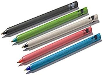 Farbe schwarz 10x Kugelschreiber aus Papier