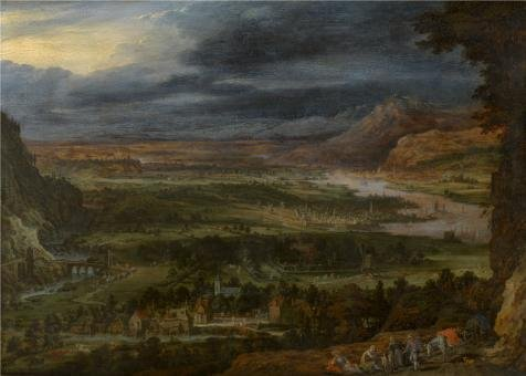 High Quality Polyster Canvas ,the Cheap But High Quality Art Decorative Art Decorative Canvas Prints Of Oil Painting 'Toegeschreven Aan Peeter Gijsels,Landscape,17th Century', 20x28 Inch / 51x71 Cm Is Best (Saucepan Man Costume Ideas)