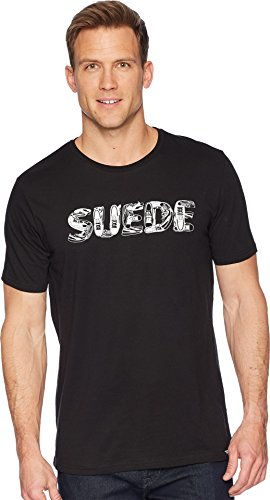 PUMA Men's Suede Celebration Tee Cotton Black 2 XX-Large