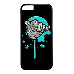 "Aloha Gesture Theme Case for iPhone 6 Plus (5.5"") PC Material Black in GUO Shop"