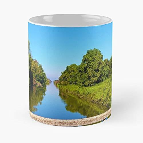 (River Bank Rive Gift Coffee/tea Ceramic Mug 11 Oz)