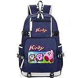 kirby backpack - SY kirby backpack cosplay rucksack bookbag schoolbag oxford shoulders bag travelling bag