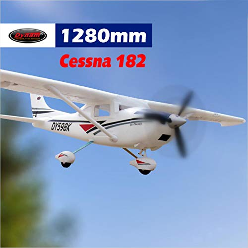 - DYNAM RC Airplane C-182 Sky Trainer 1280mm Wingspan - SRTF