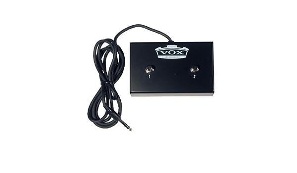 PEDAL VOX VFS2 PARA AMPLIFICADORES 2 PULSADORES: Amazon.es: Instrumentos musicales