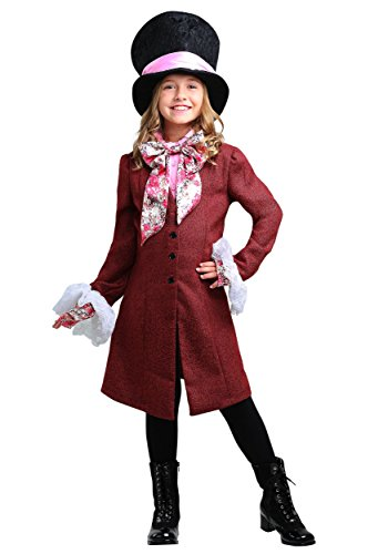 The Mad Hatter Girl Costumes - Mad Hatter Girls Costume Medium
