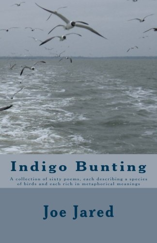 Bunting Indigo - Indigo Bunting: A collection of sixty poems, each describing a species of birds and each rich in metaphorical meanings