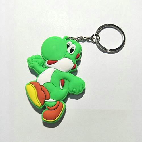 CLEARNICE Llavero Juego Super Mario Bros Cosplay PVC Llavero ...