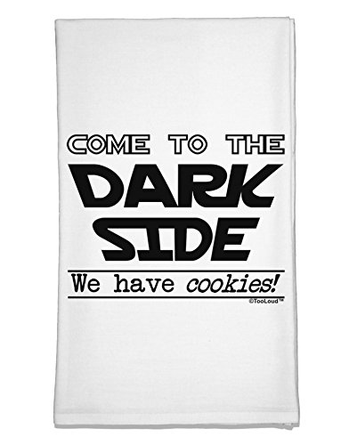 TooLoud Come to The Dark Side - Cookies Flour Sack Dish Towel