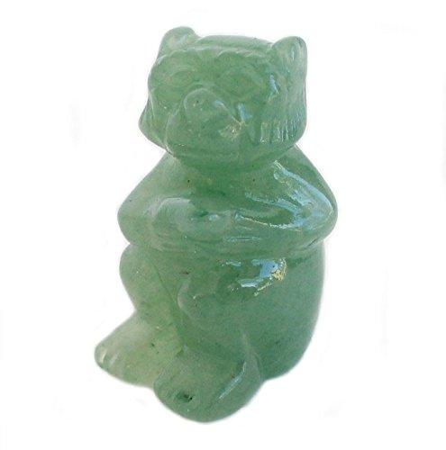 Small Jade Monkey Statue