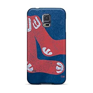 Best Hard Phone cases for Happy Christmas and New year For Samsung Galaxy S5 With Support Your Personal Customized High Resolution Boston Red Sox Series EricHowe