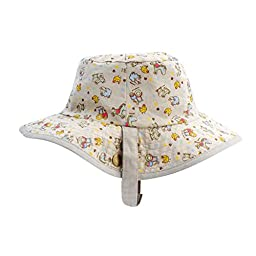 IMLECK Youth Unisex Play Hat Cowboy Style Bear Boy Sun Hat