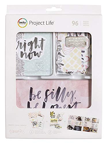 American Crafts Becky Higgins Project Life Value Kit Inspired Stitching Die Cuts