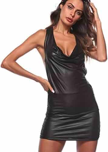 BeautyVan— Lingerie Sets Women Sexy Clubwear Leather Underwear Bodysuit  Backless Plus Size Sexy Lingerie Nightdress ef874498a