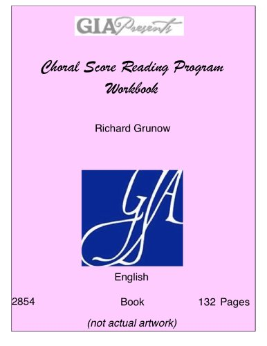 MLR Choral Score Reading Program Workbook/G2854