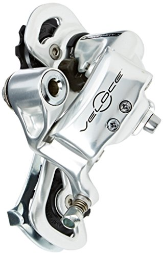 Campagnolo Veloce 10-Speed Rear Derailleur Short Cage Silver ()