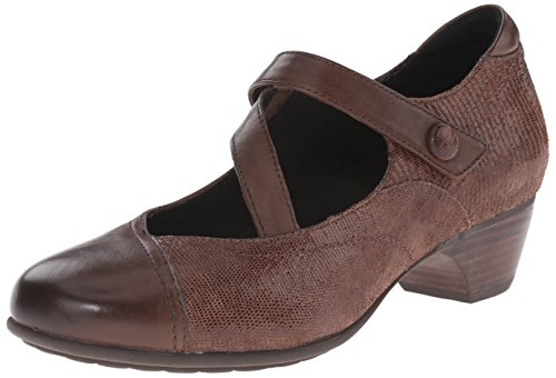 Aravon Women's Portia - AR Dress Pump,Brown/Multi,8 B US