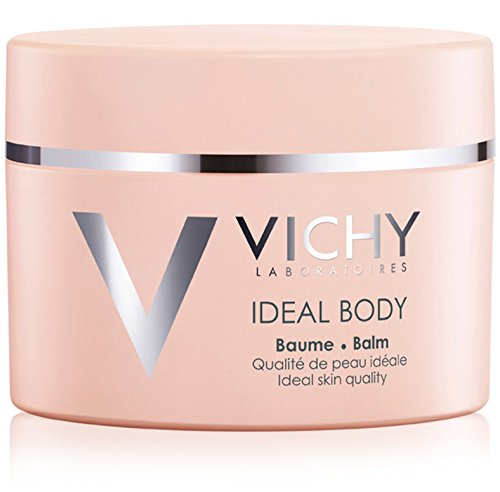 Skin Body Balm - Vichy Ideal Body Lotion Skin Firming Body Balm with Hyaluronic Acid and Rose Hip Oil, 6.7 Fl. Oz.