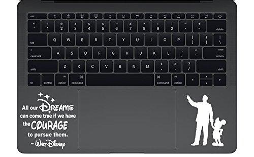 Trackpad Disney Macbook Sticker sticker product image