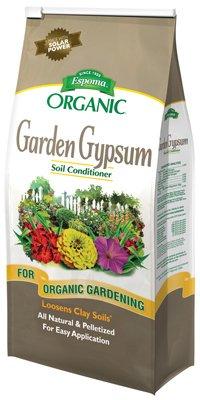 Espoma Organic GG6 6 Lb Organic Garden Gypsum Soil Conditioner