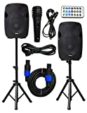 2x Ignite Pro 12' Pro Series Speaker DJ / PA System / Bluetooth Connectivity 2000W...