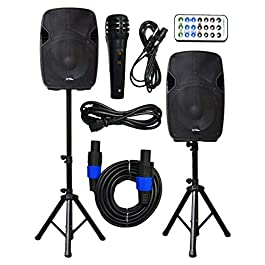 2x Ignite Pro 12″ Pro Series Speaker DJ / PA System / Bluetooth Connectivity 2000W (12″)