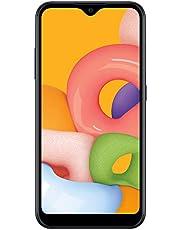 $55 » Net10 Samsung Galaxy A01 4G LTE Prepaid Smartphone - Black - 16GB - Sim Card Included -CDMA