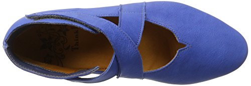 Think!! Women's Guad Closed Toe Ballet Flats Blue (Jeans / Combi 84) low price fee shipping online low shipping fee online cheap sale Cheapest clearance cheapest price YskuGrE