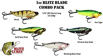 Blade Bait Walleye Jig Hand Made in USA! Chartreuse Special Sonar