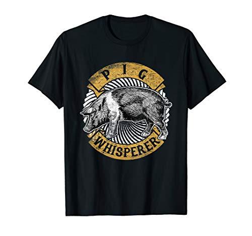 Pig Whisperer Tee shirt Love Pigs Farmer Lover Farm Gift -