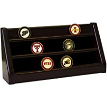 DECOMIL - 3 Rows Shelf Challenge Coin Holder Display Casino Chips Holder (USED GOOD)