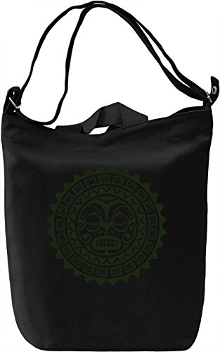 Tribal Borsa Giornaliera Canvas Canvas Day Bag| 100% Premium Cotton Canvas| DTG Printing|