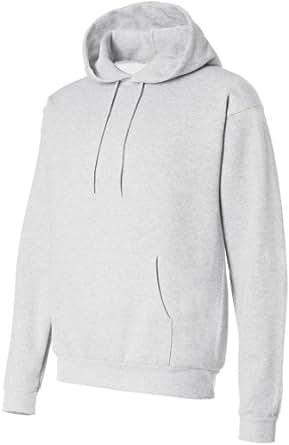Hanes ComfortBlend® EcoSmart® Pullover Hoodie Sweatshirt_Ash_3XL