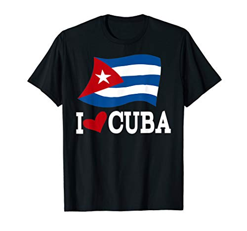 Cuban Flag Cuba T-Shirt Miami Spanish Cuban Shirt