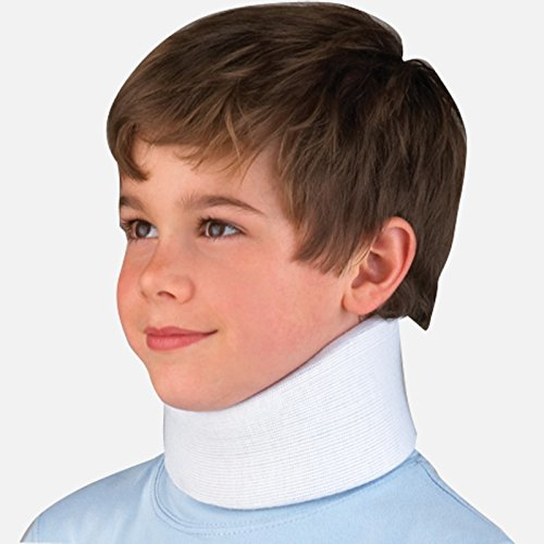 FLA OrthoPedics For Kids Microban Cervical Collar Blue Youth by FLA Orthopedic Braces