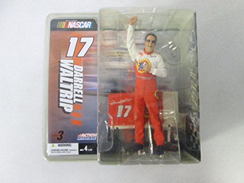 e Nascar Darrell Waltrip 17 Series 3 with Sunglasses (Speed Series Sunglasses)