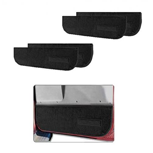 Nifty Products 122001 Pro-Line Replacement Carpet 2pc Lower Door Panels Black ()
