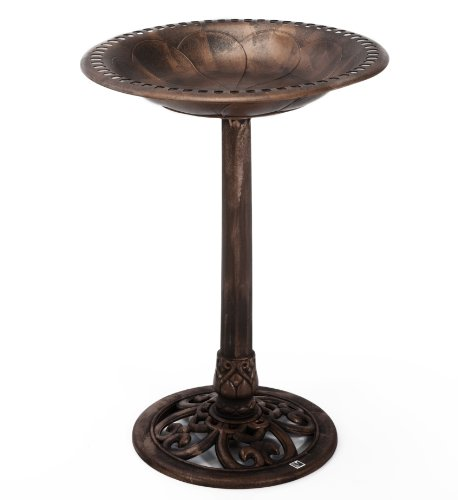 -[ RSPB Bronze Bird Bath  ]-