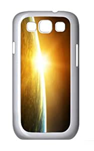 covers cool Sunrise Space PC White case/cover for Samsung Galaxy S3 I9300