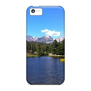 For Iphone 4/4s (rocky Mountain National Park Colorado) High-definition cell phone Pretty Iphone Cases Covers case miao's Customization case