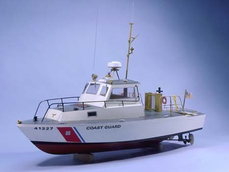 Dumas US Coast Guard Utility Boat Wooden Boat Kit (Dumas Boat Kits)