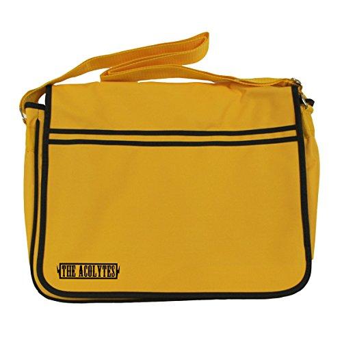 Arcane Store - Bolso al hombro de Algodón para hombre dorado