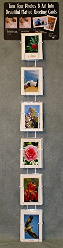 "Photographer's Edge, Wall Rack, Vertical Pockets For 5"" x 7"" Cards"